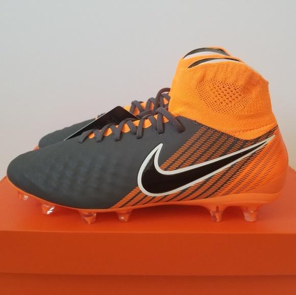 e0275358d Nike Magista Grey Obra II Pro DF FG Soccer Cleats